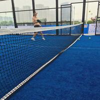 12.8M X 1M Tennis Net 42ft Tennis & Racquet Sports Drop 1x Tennis net ~