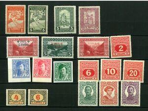 Bosnia   1912-1918 Good set stamps  MH*  (205)