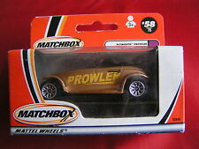 MATCHBOX  MADE IN CHINA #58/75 PLYMOUTH PROWLER