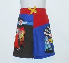 Disney Store Toddler Boys Cars Piston Cup Racing Series Swim Shorts XXS/2-3 NWT