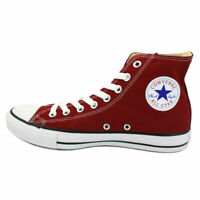 WOMENS CONVERSE ALL STAR HI TOPS MAROON COLOUR SIZE 4 UK - SALE PRICE MUST GO!