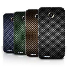 STUFF4 Back Case/Cover/Skin for Motorola Nexus 6/Carbon Fibre Effect/Pattern