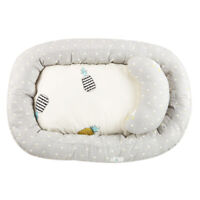 Portable Baby Bassinet Bed Breathable Lounger Crib Sleeping Nest w/ Pillow New