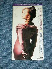 "VANESSA WILLIAMS Japan 1992 Tall 3"" CD Single JUST FOR TONIGHT"