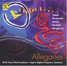 North Texas Wind Symphony - Allegories (2004, CD NEUF)