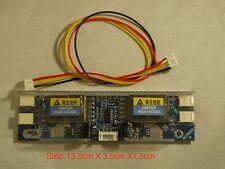 "UNIVERSAL INVERTER 10V-30V 4 Lamp Fro 15-24"" CCFL LCD  Widescreen MONITOR #7"