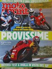 Motosprint 19 1988 Test Aprilia 125 AF/1 RR - Aprilia 600 Tuareg Wind - Gp Imola