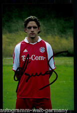 super AK Foto Owen Hargreaves Bayern München 2003-04(1) Orig. Signiert