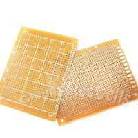 10 Prototyping PCB 7cm x 9cm Universal Printed Circuit Panel Board 720 Holes FR2