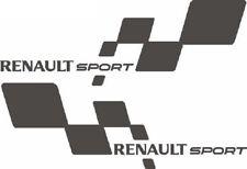 Renault Sport Aufkleber Renault Clio 172 182 192 Megane 225 Cup links rechts