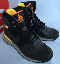 Nike Stasis ACG 616192-221 Brown Black Lifestyle Winter Boots Shoes Men's 8 new