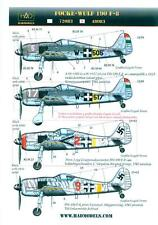 Hungarian Aero Decals 1/48 FOCKE WULF Fw-190F-8 German Fighter