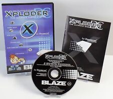 Sega Dreamcast-Xploder Blaze the ultimate cheat system + Guide + neuf dans sa boîte