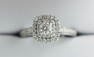 9ct Diamond Ring 0.75ct