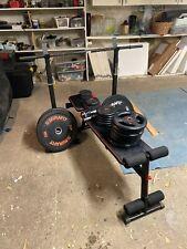 Home Gym Equipment - Bench, Squat Rack, Weights, Plates, DOMYO, MIRAFIT, 75KGS
