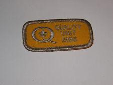 BOY SCOUTS  Quality Unit 1995 2.5 x 1.25 patch