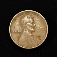 1911-S 1c LINCOLN WHEAT SMALL CENT, VF *SEMI-KEY DATE COIN* LOT#Y627