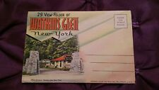 ** VINTAGE 29 VIEW FOLDER OF WATKINS GLEN NEW YORK U.S.A. **