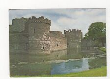 Beaumaris Castle Anglesey 1974 Postcard 526a