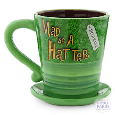 "Authentic Disney Parks Mad Hatter Mug Alice in Wonderland ""Drink Me"" Coffee Tea"