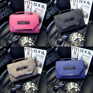 New Women HOT MOSCHINO Shoulder Bag Fasion Wallet for Girls Pures Bag