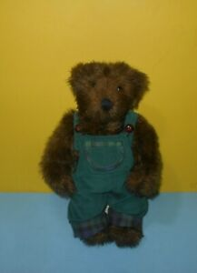 "12"" Benjamin Teddy Bear by Etta Foran and Pat Joho For Ashton-Drake 1996"