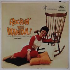 WANDA JACKSON: Rockin' with Wanda! '60 CAPITOL Starline Gold Rockabilly LP HEAR