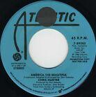 CHRIS HUNTER America The Beautiful (1986 U.S. Double Side A Promo 7inch)