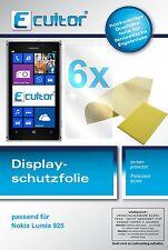 6x Nokia Lumia 925 Film de protection d'écran protecteur cristal clair