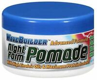 WaveBuilder Night Form Advanced Formula Pomade, 3.5 oz (Pack of 2)