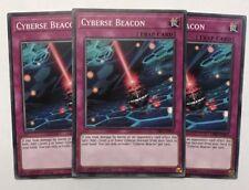 Yu-Gi-Oh! CIBR-EN067 - Cyberse Beacon Playset (x3) - 1st edition - Common