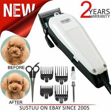 Wahl Performer Dog Animal Shaver Clipper Kit│4xCombs│Carbon Steel Blades│Scissor