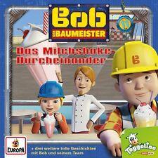 BOB DER BAUMEISTER - 011: DAS MILCHSHAKE-DURCHEINANDER (+3 WEITERE) CD NEU