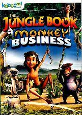 NEW DVD // THE JUNGLE BOOK // MONKEY BUSINESS // Teresa Gallagher, Jimmy Hibbert