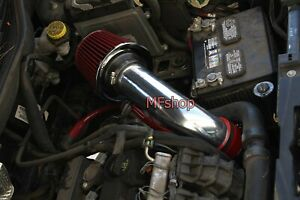 RED For 2007-2010 Jeep Compass Patriot 2.0L 2.4L L4 Air Intake Kit + Filter