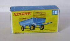 Repro Box Matchbox 1:75 Nr.40 Hey Trailer