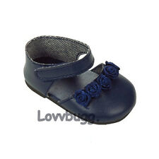 Navy Blue Flower for 18 inch Doll Shoes American Girl Clothes Best Seller Online