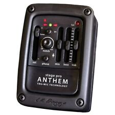 LR Baggs Stagepro Anthem Acoustic Guitar Pickup Side Mounted Preamp EQ Tuner