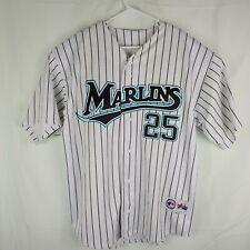 Majestic 2005 Carlos Delgado Florida Marlins Authentic Baseball Jersey Miami