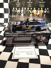 2015 Action Darrell Bubba Wallace Ford Ecoboost 1/24 Color Chrome - Autographed