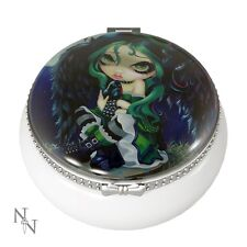 JEWELLERY TRINKET BOX PERCHED AND JASMINE BECKET-GRIFFITH 5.5CM NEW AND BOXED