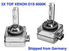 2x TOP Quality D1S 6000K 35w Xenon Bulbs Lamp Audi A3 8P1 to 05/2008