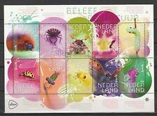 Nederland 2018 V3658-3667 Vel Beleef de Natuur Insecten - Insects