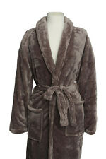 *NEW* PLUSH MEN'S Spa Bath Robe Super Comfy, Large pockets & waist tie ~