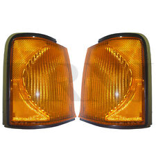 LAND ROVER DISCOVERY 2 99-02 AMBER FRONT INDICATOR LAMP SET XBD100870 XBD100880