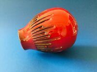 🔴 Vaso ceramica policromatica anni 50 fat vaso lava maiolica