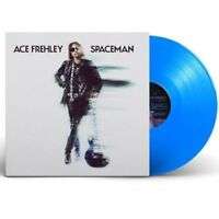 Ace Frehley Spaceman Blue Vinyl  & Download card Limited 2,000 OOP Bonus POSTER