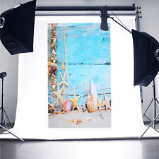 3x5Ft Photography Background Summer Beach Sands Sea Scene Backdrop For Studio