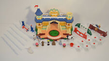 2005 Breyerfest Horse Showcase Arena Deluxe Playset Mini Whinnies Lot Stable