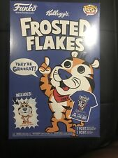 Funko Shop Frosted Flakes Cereal Box T-Shirt & Tony Tiger Pocket Pop 2xl